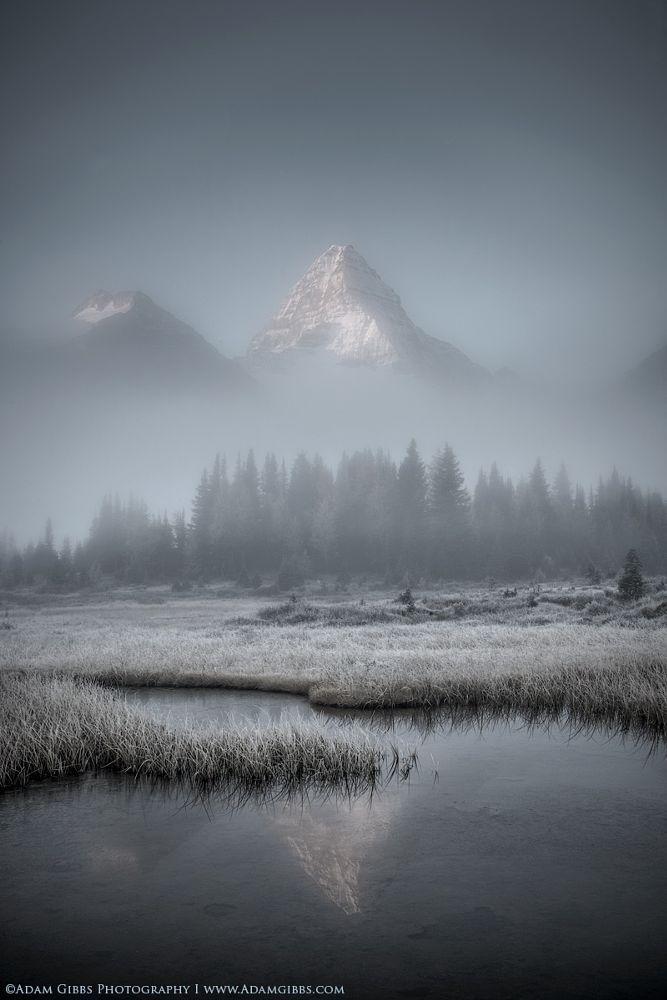 Assiniboine in the mist (B.C.) by Adam Gibbs on 500px