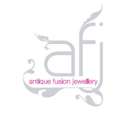 the 'antique fusion jewellery' logo