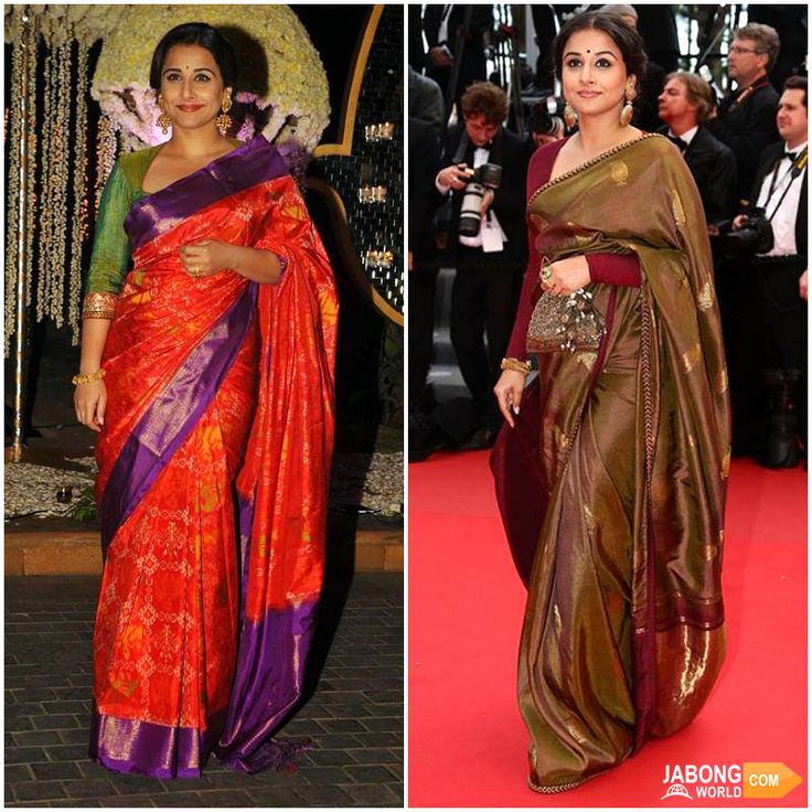 Beautiful and elegant, the epitome of womanhood Vidya Balan <3 Your new #saree inspiration! :D  SHOP SAREES--> http://www.jabongworld.com/women/sarees.html?dir=desc&order=bestsellers&?utm_source=ViralCurryOrganic&utm_medium=Pinterest&utm_campaign=SareesAtJabongworld-16Dec
