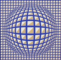 Terz by Victor Vasarely                                                                                                                                                                                 More