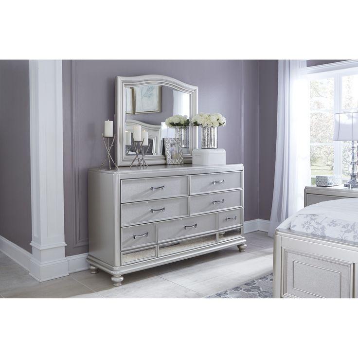 Dressers, Bedroom Dresser Decorating And Grey