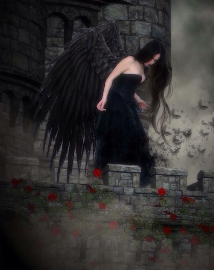17 best images about dark gothic fallen angels on pinterest gothic angel wings and dark - Gothic fallen angel pictures ...