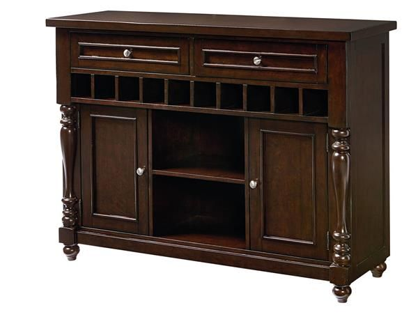 Mcgregor Casual Brown Wood 2 Drawers Sideboard Standard Furniture Collections Pinterest