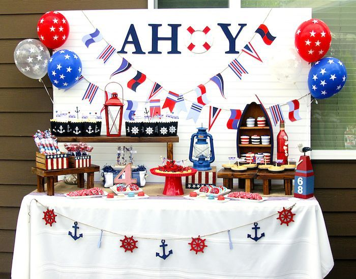 Nautical Themed Birthday Party Ideas
