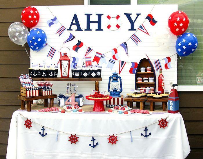 Nautical Themed Birthday Party Ideas