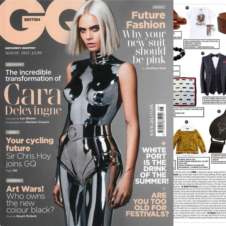 Out now on British GQ. Shop online on www.seetees.it or www.wolfandbadger.com #seetees #seeteesway #chicwear