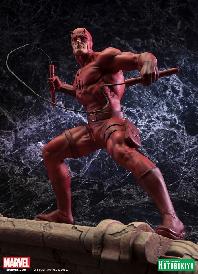 That Figures: NEWS: Kotobukiya's Daredevil Fine Art Statue