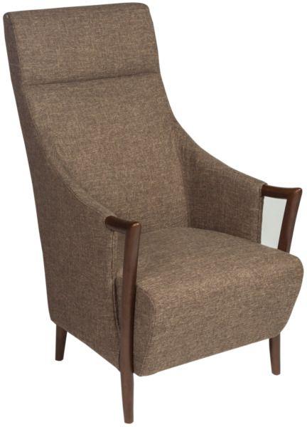Метки: Кресла для дома, Кресла с высокой спинкой, Кресла с деревянными подлокотниками, Кресло для отдыха.              Материал: Ткань, Дерево.              Бренд: MHLIVING.              Стили: Классика и неоклассика, Лофт.              Цвета: Коричневый.