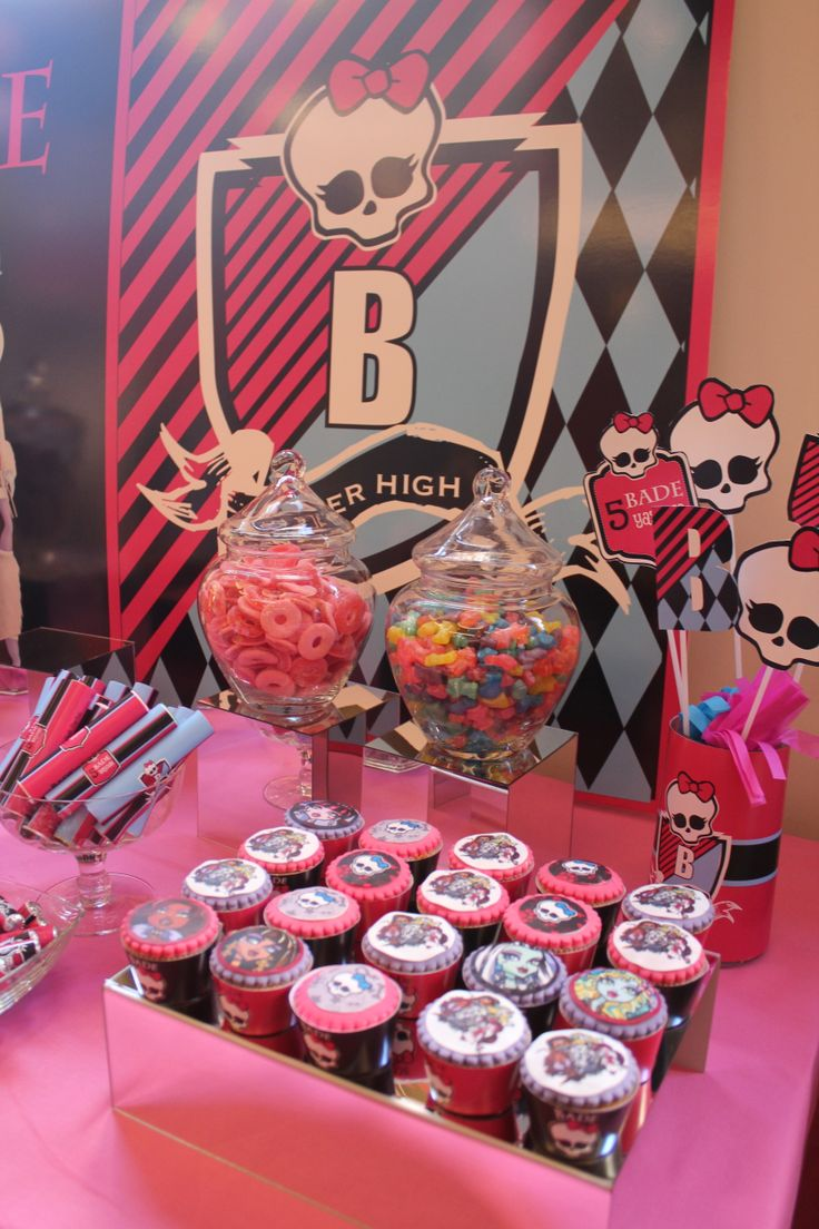 Monster high Party Concept