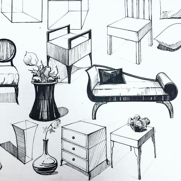 Картинки иллюстрации мебели