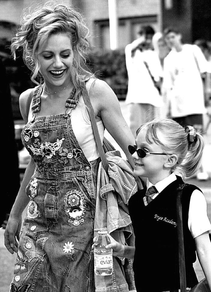 "Brittany Murphy and Dakota Fanning-""Uptown Girls"" -forever young ⏳"