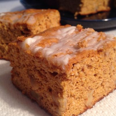 Ripped Recipes - Pumpkin Dessert Squares - Easy, delicious, and low calorie squares!