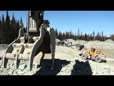 Kode Contracting's Beaver Quarry provides various sizes of rip rap.