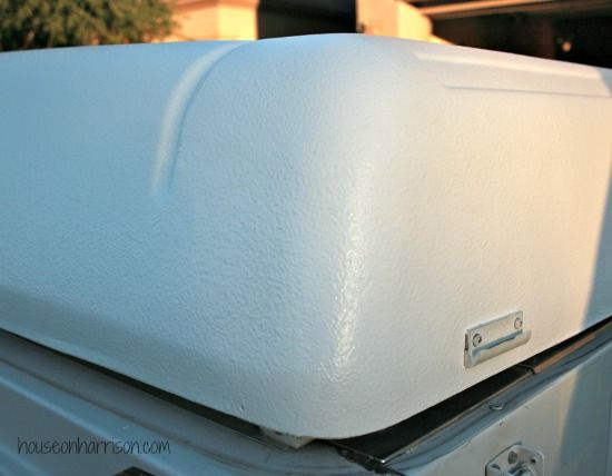 Repairing a Coleman ABS Roof