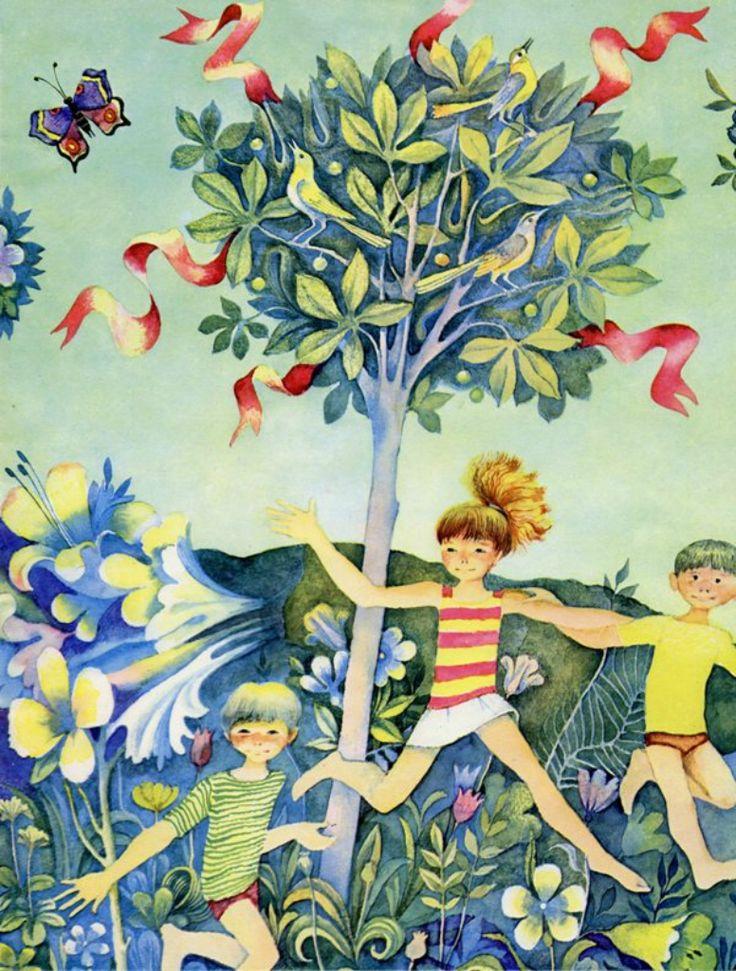 Illustrator Viktor Pivovarov: 'Joy' Author: Maurice Careme trans. by V. Berastau Country USSR , Russia Year 1970