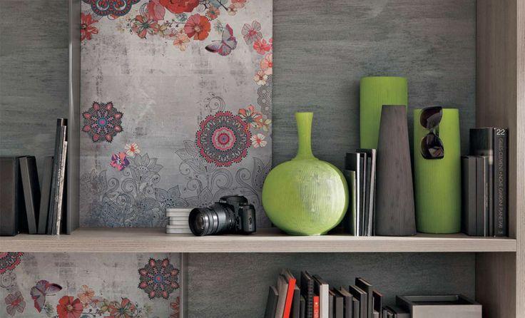 Dettagli grafici di arredo in soggiorno | gruppotomasella.it