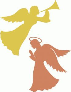 angel silhouette - Google Search