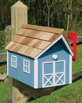 dutch barn windows mailbox