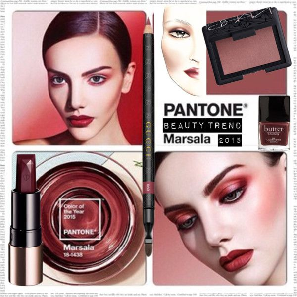 Beauty Trend Marsala Colour of the Year 2015