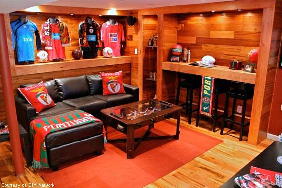 "The man cave is a place where a guy can be exactly what he wants to be: himself. It's a respite from the 24/7 challenges of being a man, which gets tiring given all that heavy lifting and meticulous manscaping. The man cave is a gift. From our wives, ourselves and the universe, which says from time-to-time, ""Okay, now you can play."" Doesn't every guy want to hear that"
