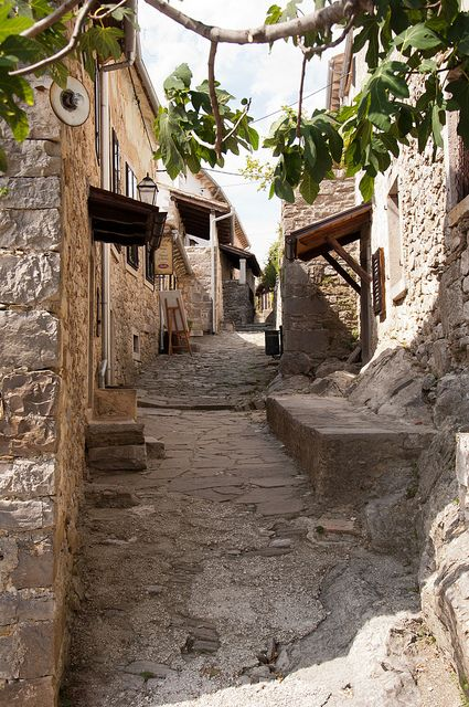 Hum, Croatia (Note: The smallest town in the world)