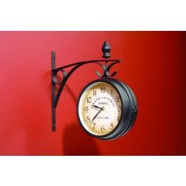 Jysk.ca - NEW YORK RAILWAY CLOCK 25CM - Love clocks like this.