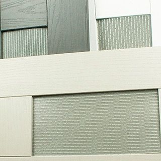 "4 Likes, 1 Comments - Changing The Face (@ctfoc) on Instagram: ""We think our silver grey Kimorra® panels bring the wow factor to these kitchen doors What do you…"""
