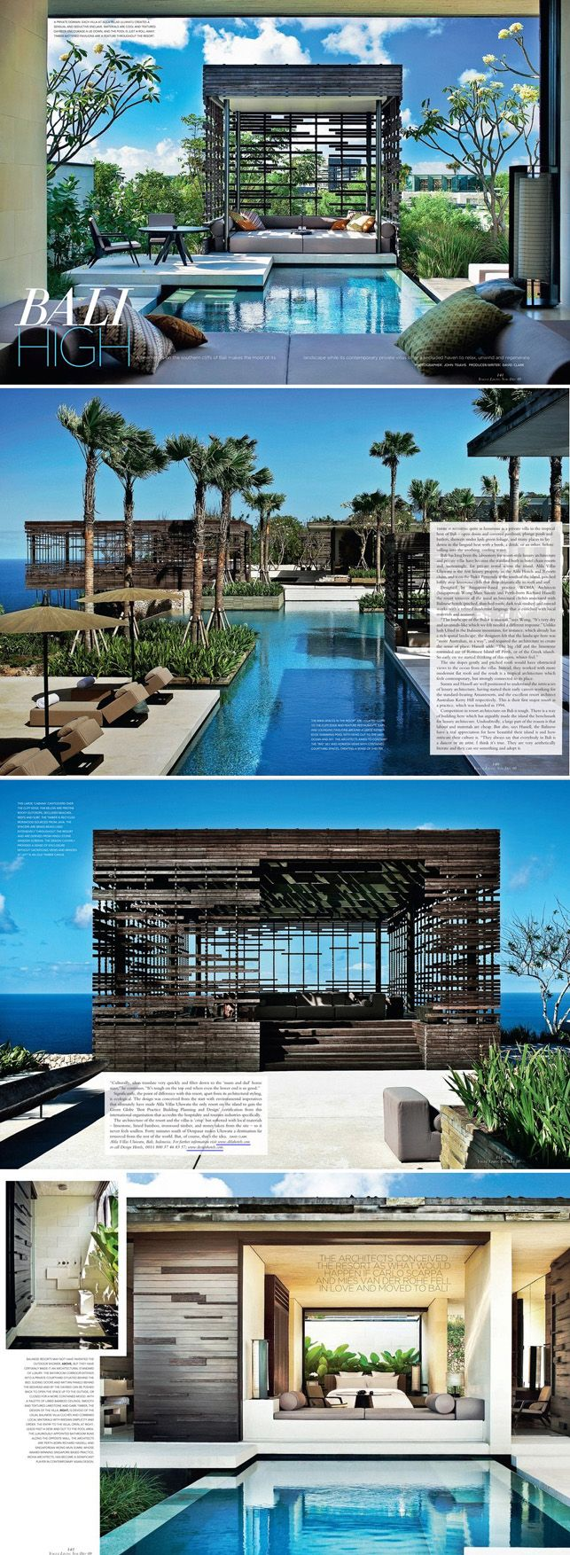 Alila Villas Uluwatu, Bali_by WOHA Architects
