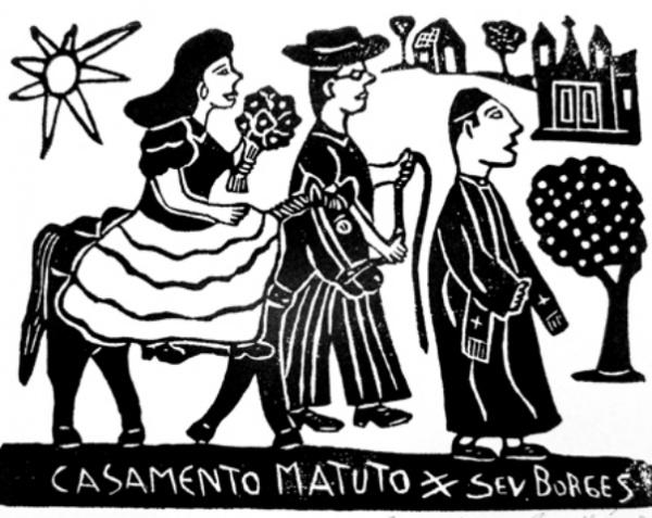 Cordel - Casamento matuto, Severino Borges