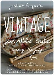 junkaholique's jumble sale event