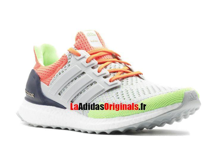 Adidas Ultra Boost Kolor - Chaussure de Running Pas Cher Pour Homme/Femme Orange/Solaire/Gris af6219-Boutique Adidas Originals de Running (FR) - LaAdidasOriginals.fr