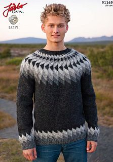 Jarbo 91149: a FREE pattern on Ravelry!! (I love the mix of modern and traditional vibes here)
