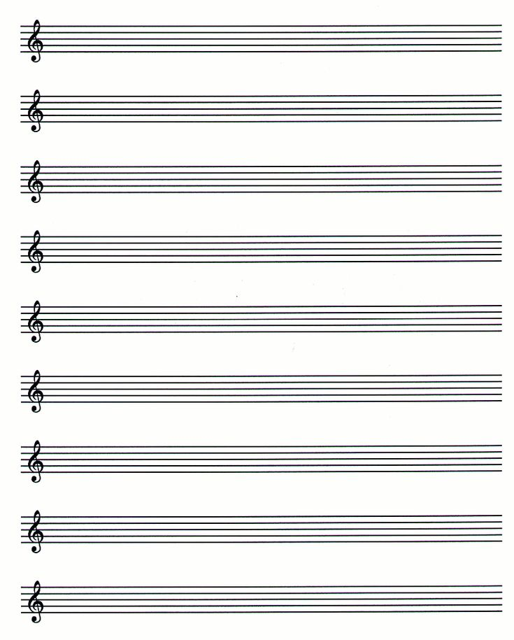 It's just a photo of Unforgettable Music Staff Paper Printable