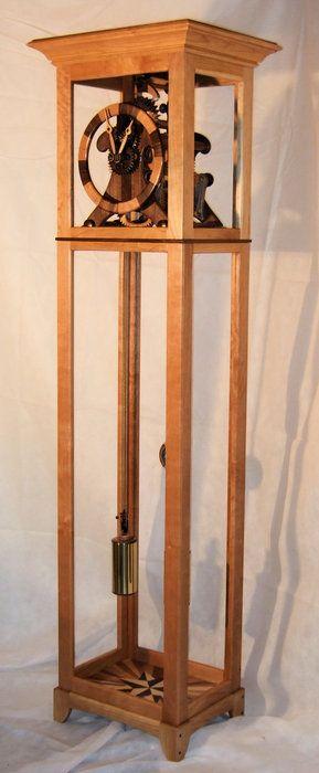 M8 - Tall Case Clock - by Charles Maxwell @ LumberJocks.com ~ woodworking community