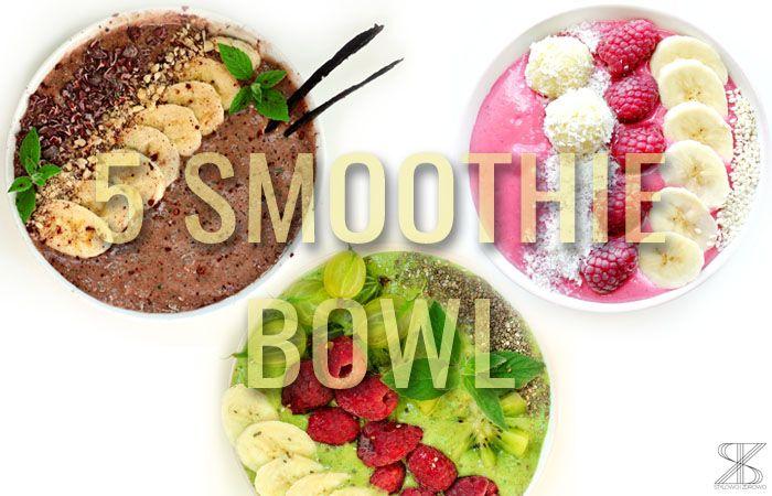 Stylowo i Zdrowo: 5 Smoothie bowl for breakfast