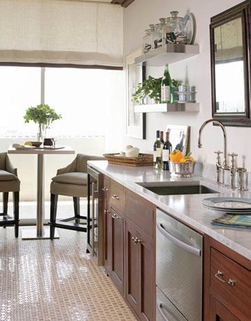 Stainless Steel Kitchens - Stainless Steel Appliances - House Beautiful