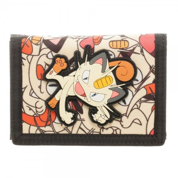 Pokemon Wallet - Meowth Velcro @Archonia_US