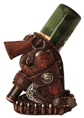Gun Holster Wine Bottle Holder at Cowgirl Blondie's Dumb Blonde Boutique - Western Lifestyle with a Kick!