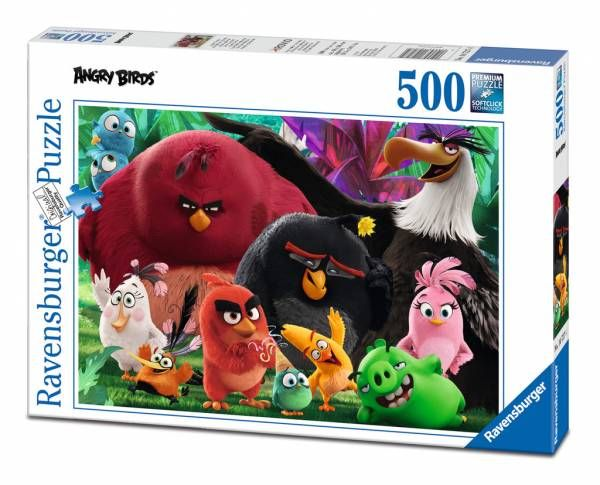 Puzzle Angry Birds ( Ref:  0000014727 )