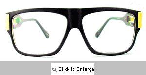 Dexter Sport Clear Lens Glasses - 311 Black