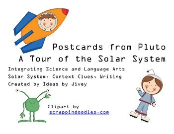 Postcard from Pluto Planet Writing