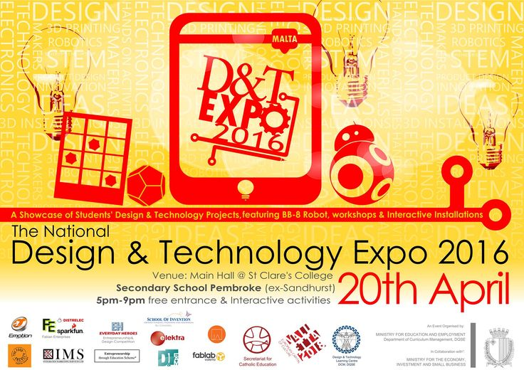 Silex will be taking part in the National Design and Technology Expo 2016 - which will be held tomorrow, 20th April at the St. Clare's College in Pembroke, Malta. It is our commitment to inspire the younger generation to express their innovative spirit in design and technology. Silex's technologies and designs have been developed by Maltese individuals, and although Malta is detached from mainland Europe, with the right spirit, our designs and technologies can reach the international market…