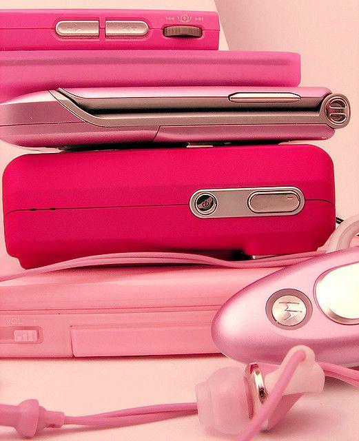 Pink phones...