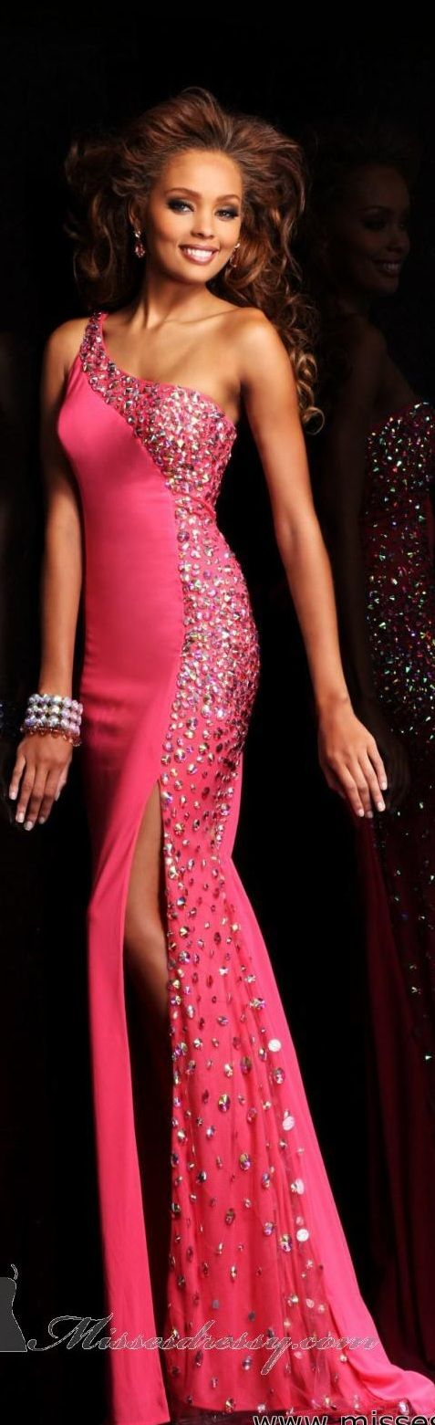 Sherri Hill 2013 ~ i would use less of the sprinkles, too beauty pageant, otherwise timeless exquisite style