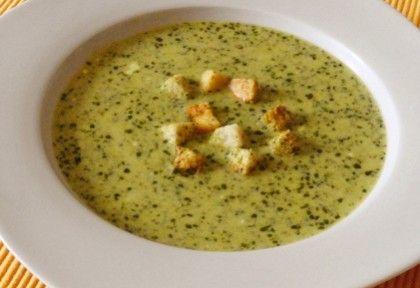 Creme fraiches medvehagyma pesto leves | NOSALTY – receptek képekkel