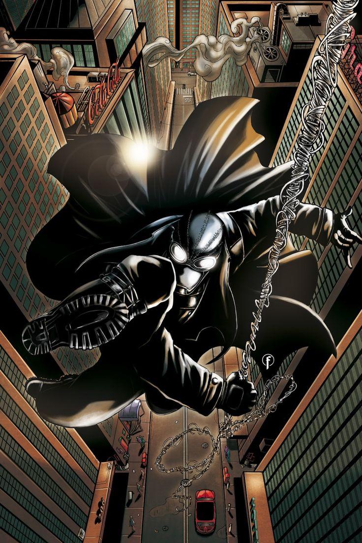 #Spiderman #Noir #Fan #Art. (Spider-Man Noir Color) By:Riccardo-Fasoli. (THE * 5 * STÅR * ÅWARD * OF: * AW YEAH, IT'S MAJOR ÅWESOMENESS!!!™)[THANK Ü 4 PINNING!!!<·><]<©>ÅÅÅ+(OB4E)