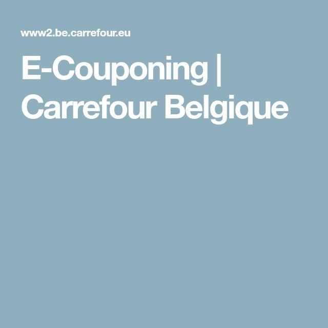 E-Couponing | Carrefour Belgique