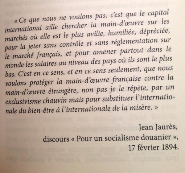 La citation du jour : Jean Jaurès | Niooz.fr