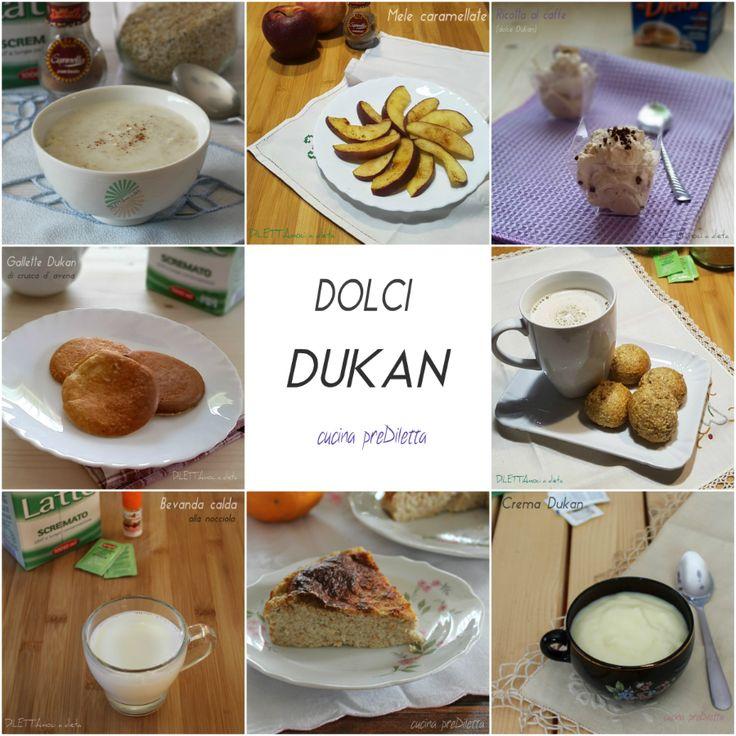 Dolci Dukan - raccolta ricette per chi è a dieta | cucina preDiletta