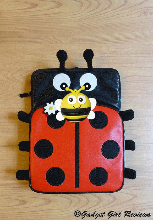 The Trendz ladybird tablet case and USB bee http://www.gadgetgirlreviews.com/2014/05/trendz-10-inch-ladybird-tablet-case.html